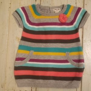 Cherokee Baby Sweater Dress 6M